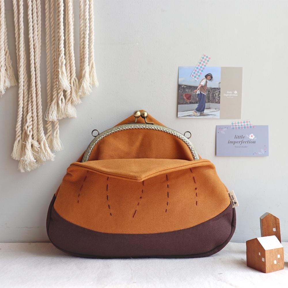 | 黃栗子 | 造型 口金包 側背包 隨身包 手提包
