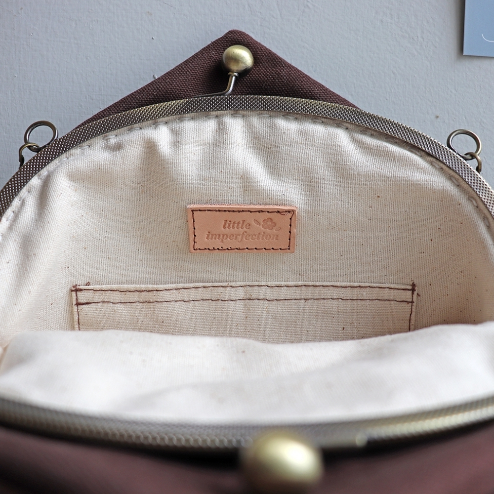 | 栗子 | 造型 口金包 側背包 隨身包 手提包