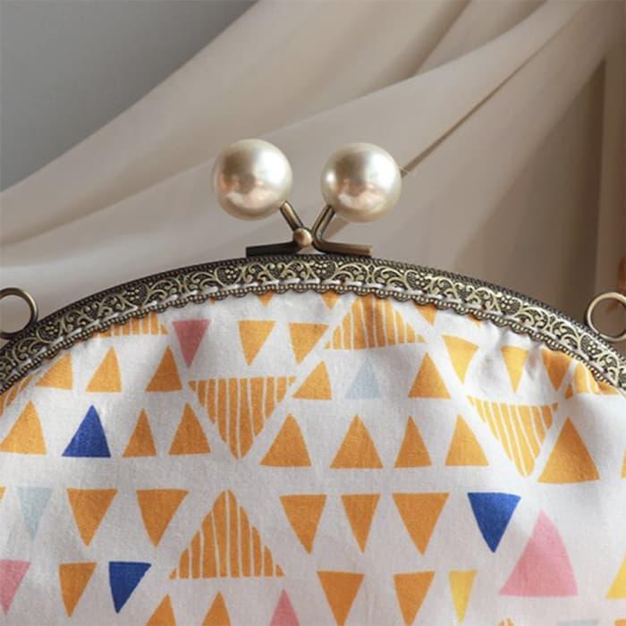 -跳耀的糖果- 3way 口金包 側背包 手拿包 手提包